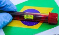 Brasil regista recorde no número diário de mortes. Morreram 751 pessoas