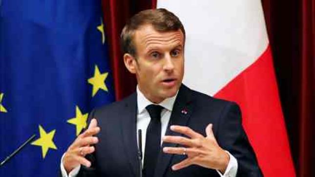 Macron anuncia programa de segurança, mesmo sem candidatura oficial