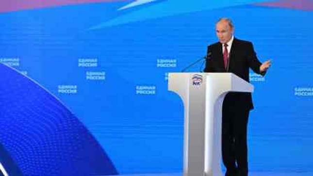Putin promete milhares de milhões de rublos antes das eleições