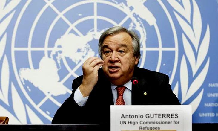 Guterres frustrado com desunião do mundo