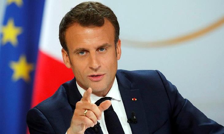 """Emmanuel Macron lamenta """"desordem"""" da ONU"""
