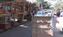 Município de Maputo retira vendedores informais nos arredores do Mercado Estrela