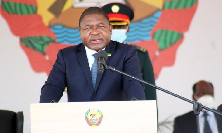 Nyusi quer sociedade envolvida na defesa e segurança de Moçambique