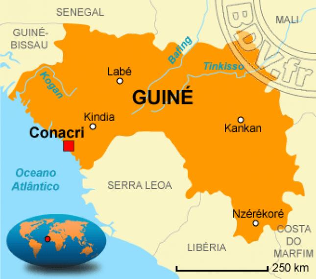 Guiné-Conacri : Eleitores nas urnas este domingo para escolher próximo Presidente