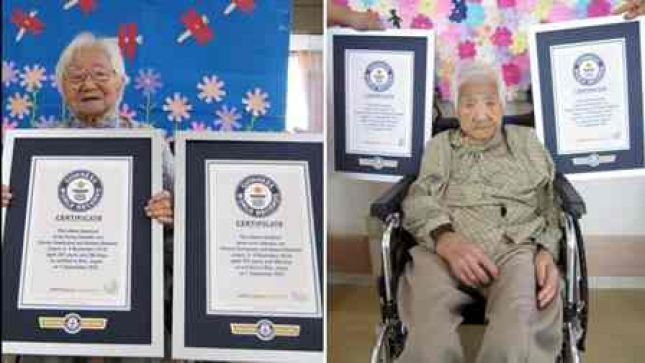 Irmãs japonesas com 107 anos são as gémeas mais velhas do mundo