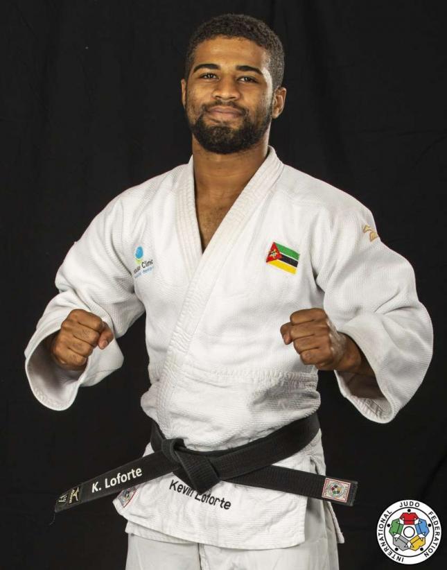 Judoca moçambicano Kevin Loforte derrotado nos Jogos Olímpicos no Japão