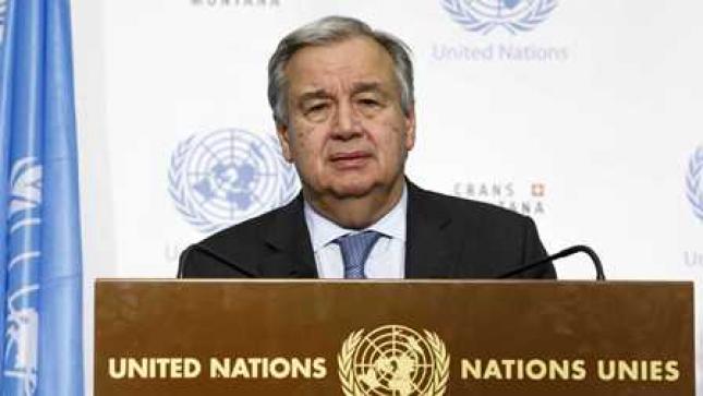 """Guterres reconhece """"frustração"""" perante """"falta de unidade"""" internacional"""