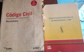 Livros de.codigo civil e constituição civil Malhangalene - imagem 1