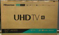 "Tv Hisense 50"" UHD 4k Bairro Central - imagem 1"