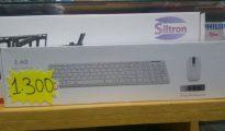 Conjunto de teclado e mouse com wireless novos com garantia Bairro do Jardim - imagem 1